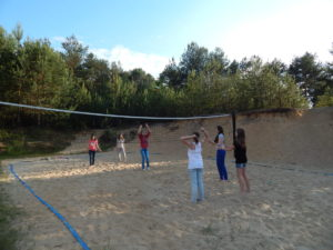 Green-school-volley