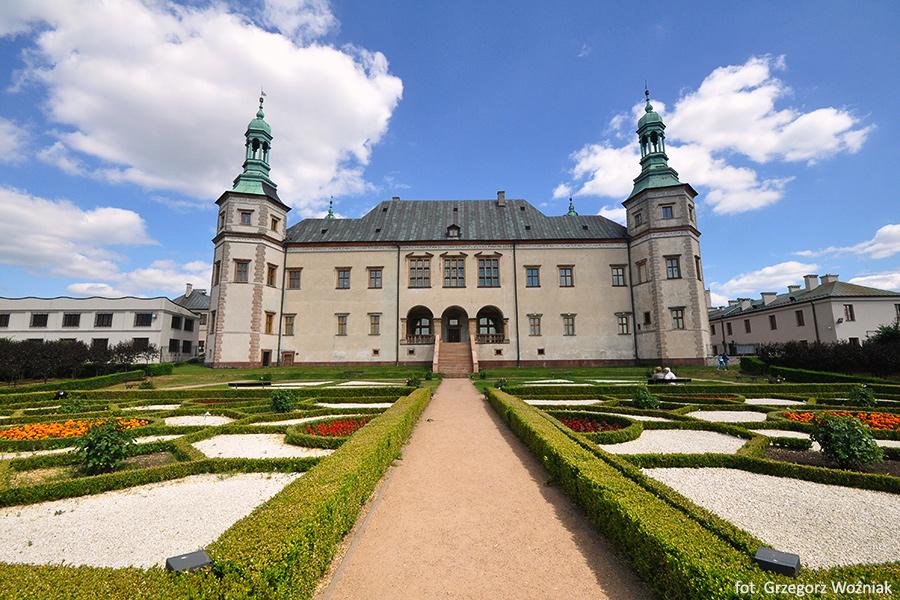 Pałac biskupów Krakowskich-Kielce, Góry Świętokrzyskie